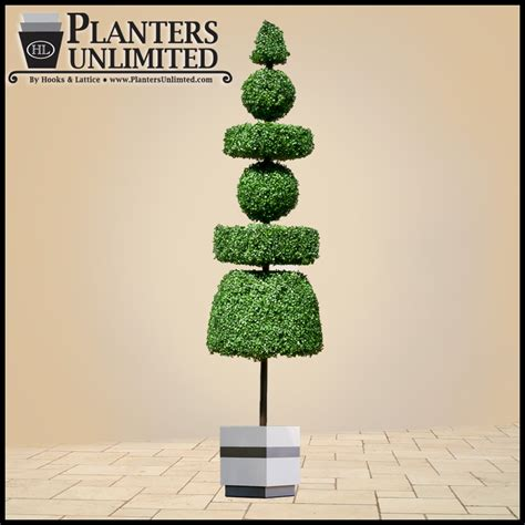 Outdoor Artificial Topiaries Fake Topiaries Topiary Plants Lighted Topiary Outdoor
