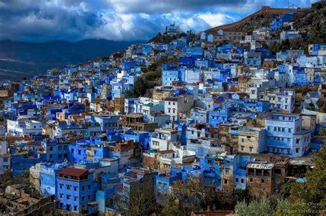 blue city morocco blue city of chefchaouen morocco steven olson color