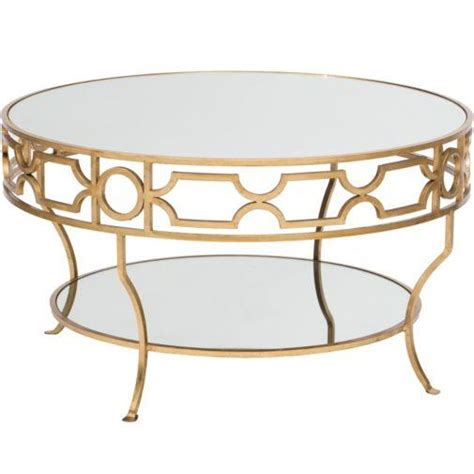 cheap gold coffee table lena mirrored top gold coffee table