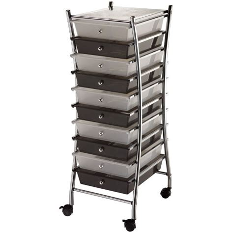 10 Drawer Cart by 10 Best 10 Drawer Rolling Cart Mobile Organizer And