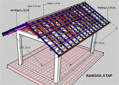 Pekerjaan Ringan pekerjaan rangka atap gianscarrier