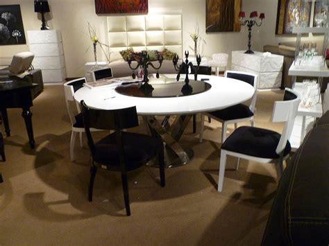 Dining Room Table With Lazy Susan by Contemporary Dining Table Set Vg83 Modern Dining