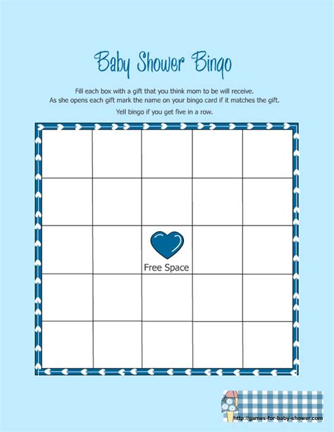 baby shower gift bingo printable archives baby shower diy