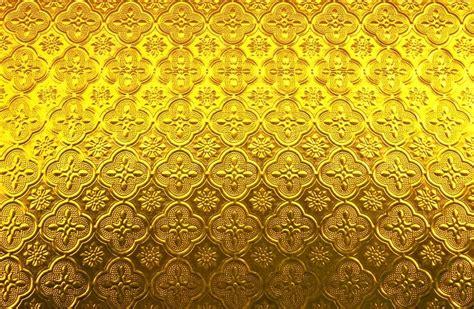 Home Decor Yellow by White Glass Pattern Thai Art Style Stock Photo Colourbox