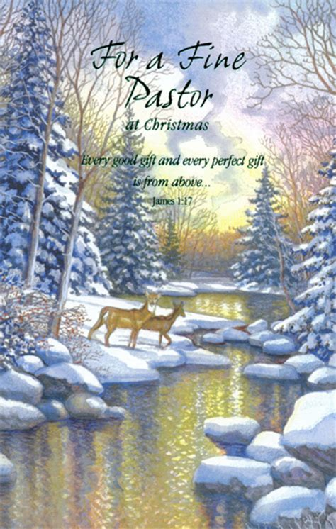 christmas gift for a pastor deer at pastor card by freedom greetings