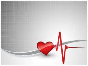 heart beat powerpoint template ppt slide templates vision