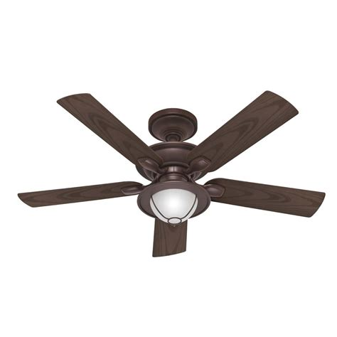 Patio Ceiling Fans With Lights Shop 52 In Maribel Outdoor New Bronze Outdoor Ceiling Fan With Light Kit 5 Blades At