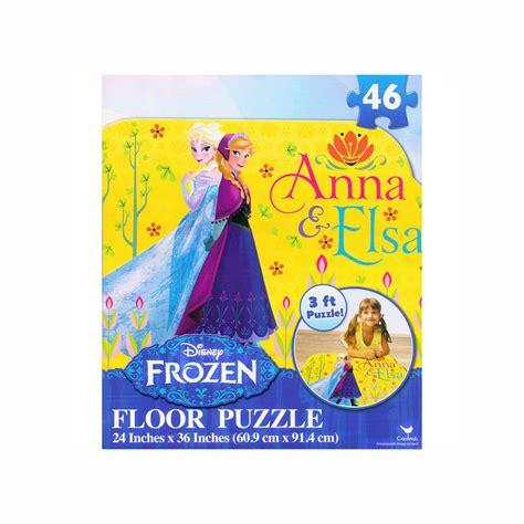 printable elsa puzzle disney frozen giant floor jigsaw puzzle 3ft anna elsa 46