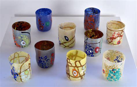 bicchieri veneziani lavorazioni vetro murano lavorazioni artistiche veneziane