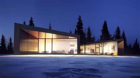 design house lighting canada carraig ridge banff canada saunders architecture