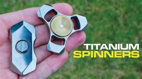 Fidget Spinner Tengkorak Besi Titanium titanium fidget spinners prototypes