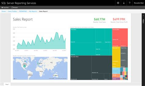 microsoft sql server reporting services microsoft announces technical preview of power bi reports