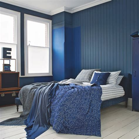 blue walls schlafzimmer blue bedroom ideas ideal home