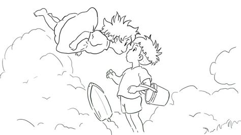 coloring pages ponyo kiki and ponyo coloring pages coloring pages
