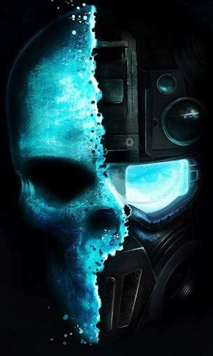wallpaper hd android skull download skull hd wallpapers for android by nocito appszoom