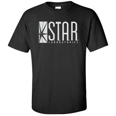 T Shirt S T A R laboratories s t a r labs tees the flash merchandise
