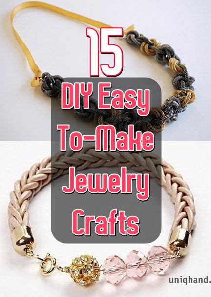 easy to make jewelry 17 best images about jewelry on crafts