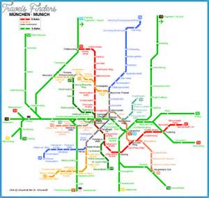 Munich Metro Map by Munich Subway Map Travel Map Vacations