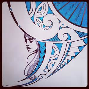 polynesian tattoo drawing blue for you tattoo pinterest