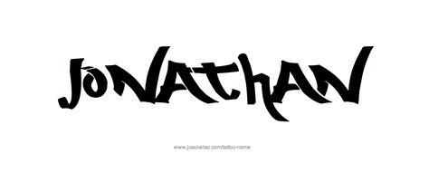 jonathan tattoo designs jonathan name designs