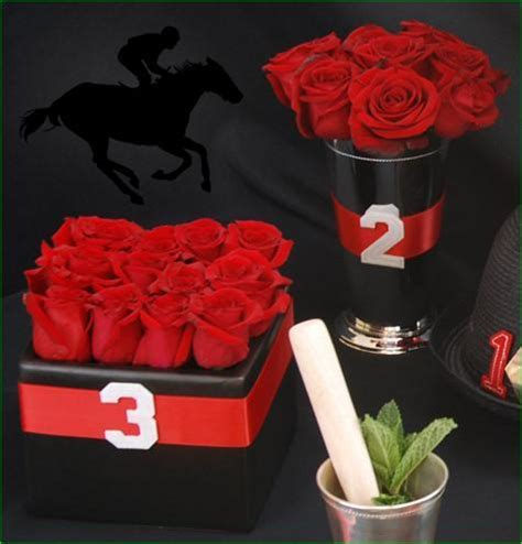 themes rose red rose centerpiece in julep cup vase red rose