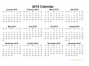 Free Printable Calendar Templates For 2015 by 2015 Calendar Blank Printable Calendar Template In Pdf