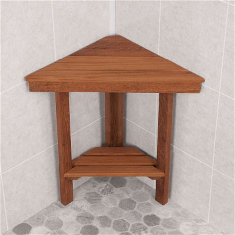shower corner bench teak corner bench small for shower and outside area other