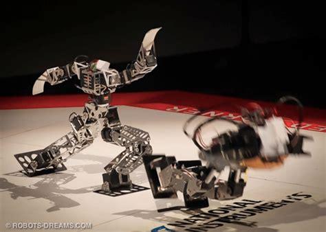 robos de rutland place mini humanoid robots battle for the robo one 2012 chionship title video
