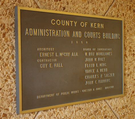 kern of rectangular section kern county us courthouses