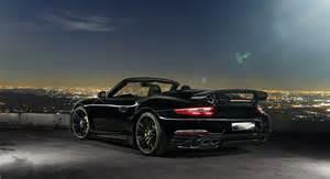 Porsche 911 S Cabriolet Techart Porsche 911 Turbo S Cabriolet Modcarmag