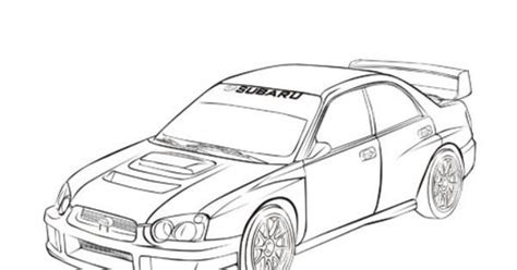 coloring pages of rally cars subaru impreza rally car coloring pages coloring pages