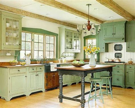 Green Cabinets In Kitchen Farmhouse Kitchen Vintage Farmhouse Kitchen Cabinets Wallpaper Hd Small Farmhouse