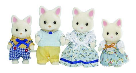 sylvanian families cat family sylvanian families silk cat family toyworld