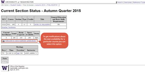 uws tutorial registration 2015 time schedule student systems help center