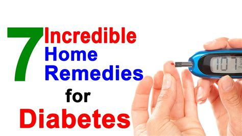 diabetes cure home remedies for diabetes that will cure
