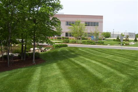 commercial property maintenance platoon landscaping