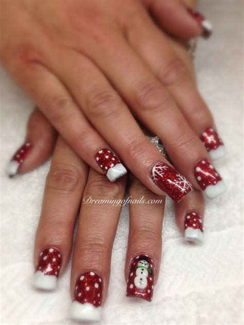 20amazing christmasfor nail 20 festive and nail ideas for dreaming of nails