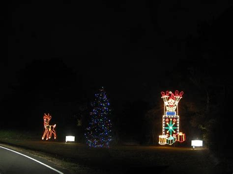 holiday festival of lights james island county park