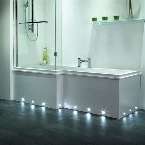 Bathroom Floor Lights Led Nimbus Ip67 Plinth Light 6 Pack