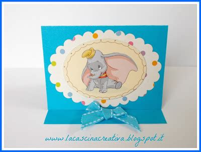 la cascina creativa: card quadretto con dumbo