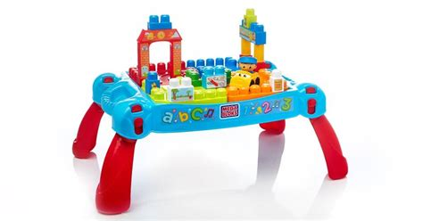 Mega Bloks Build N Learn Table by Builders Build N Learn Table Mega Bloks
