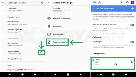 how to set up autofill on android how to use autofill in android oreo guide mobigyaan howldb