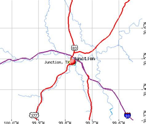 junction texas map map of texas junction cakeandbloom