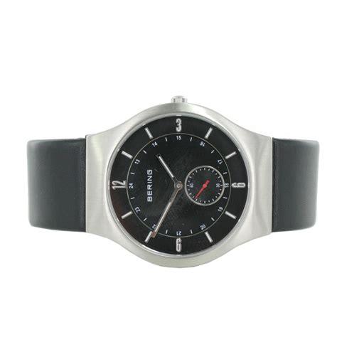 herrenuhren mit lederarmband 409 bering herren uhr armbanduhr slim classic 11940 409
