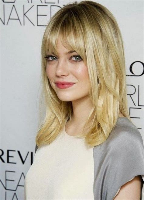 tia haircut 2014 medium 10 trendy ideas for medium hairstyles with bangs fringes