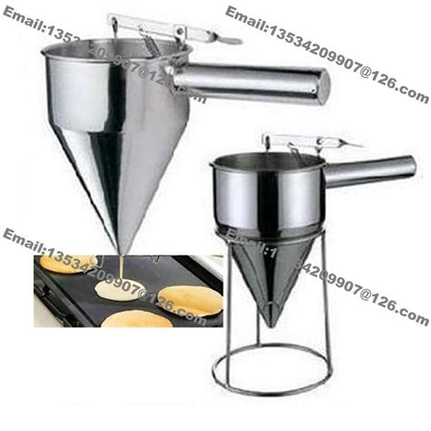 Batter Dispenser Buy 5 Get 1 Free 2018 chocolate cupcakes cake mixture batter confectionery dosing funnel dispenser from fruitmm
