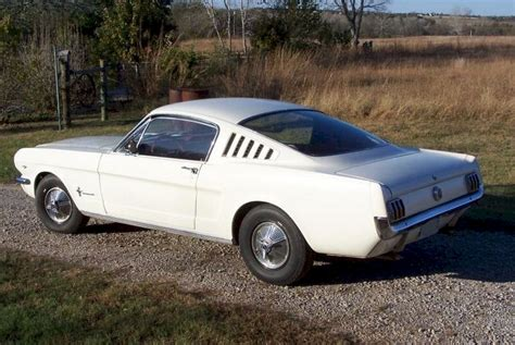 1965 mustang fastback white wimbledon white 1965 ford mustang fastback