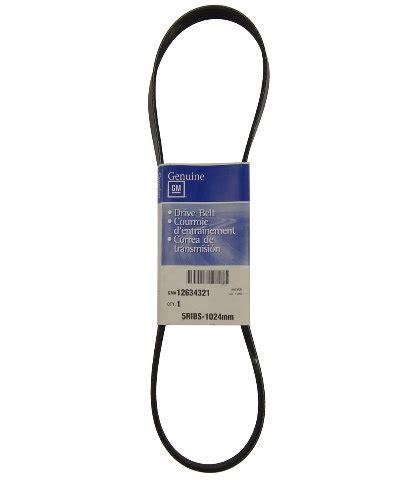 2004 2010 gm serpentine belt a/c & alternator belt new 5