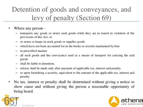 section 69 of partnership act offences and penalties under gst