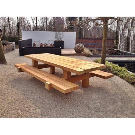 Salon De Jardin Rustique by Stunning Table De Jardin Bois Rustique Pictures Awesome